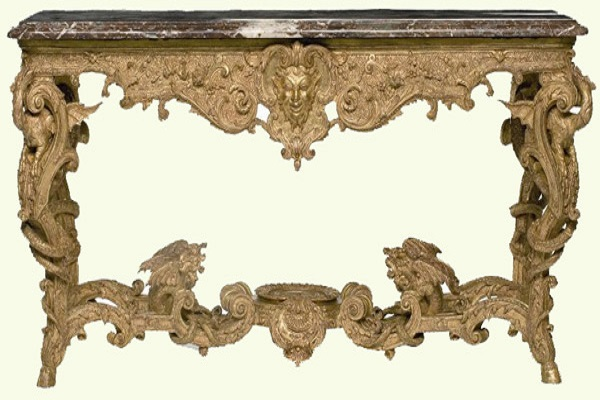 You may consider these french furniture styles for French baroque characteristics