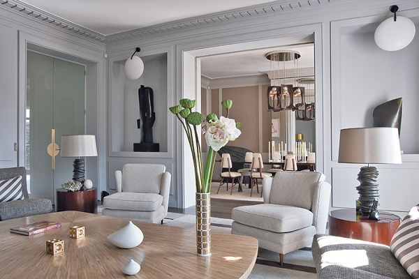 Parisian chic room